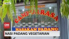 VIDEO: Nasi Padang Vegetarian