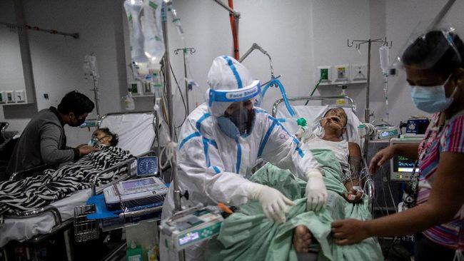 ICU di seluruh rumah sakit (RS) di Filipina hampir penuh akibat lonjakan kasus Covid-19, negara itu kini urutan delapan dunia dalam 28 hari terakhir.