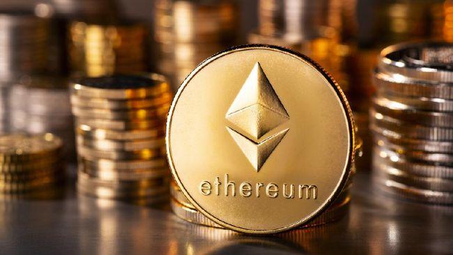 Harga uang kripto tumbuh subur. Ethereum tercatat tumbuh paling tokcer 5,10 persen dalam 24 jam terakhir.