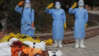 Kematian Covid-19 di India Tembus 250 Ribu Orang