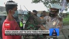 VIDEO: Pengemudi Mobil Pakai Jaket TNI Agar Lolos Penyekatan