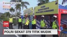 VIDEO: Polisi Sekat 379 Titik Mudik