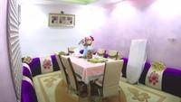 <p>TKW asal Indonesia bernama Umi Hanan menikah dengan Jenderal Arab, kini menetap di kediaman mewahnya. Ruangan ini merupakan ruang makan apabila ada tamu perempuan. (Foto: YouTube Sahabat Salam)</p>