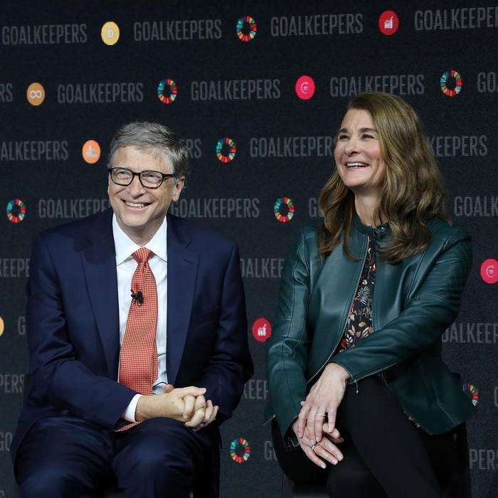 Saat masih bersama, Melinda kerap mendampingi Bill Gates di berbagai acara. (foto: instagram.com/melindafrenchgates)