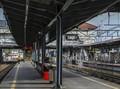 FOTO: Kala Keramaian Stasiun Tanah Abang Hilang Sesaat