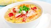 Resep Praktis Berbuka: Sup Jagung Kepiting