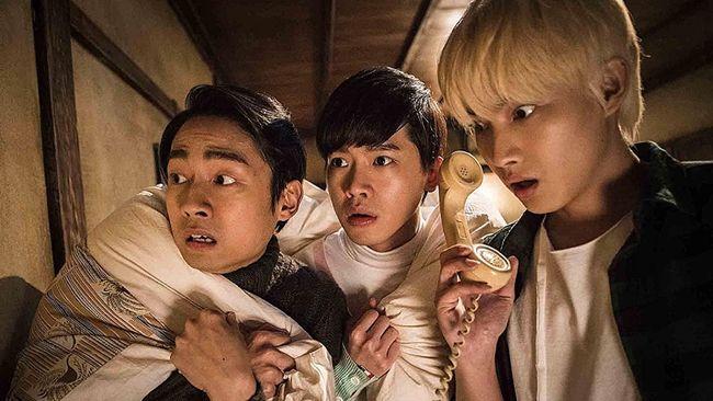 Secrets in the Hot Spring merupakan film komedi horor Taiwan dan dibintangi bintang muda seperti Zhang Ting Hu, Sing Hom, Lin He Xuan, dan Guo Shu Yao.