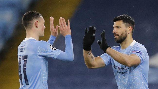 Sergio Aguero pernah bersumpah tidak akan meninggalkan Manchester City sebelum juara Liga Champions. Sumpah itu kini hampir nyata.