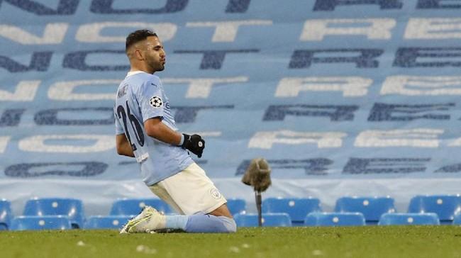 Manchester City mencetak sejarah untuk pertama kalinya lolos ke final Liga Champions.  Berikut foto-foto pilihan laga tersebut.