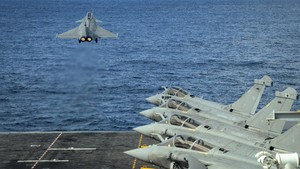 FOTO: Aksi Jet Tempur Rafale yang Diborong Mesir