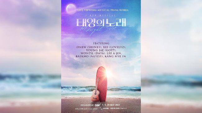 Midnight Sun, musikal yang dibintangi sederet idol Korea akan tayang langsung di Indonesia.