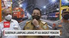 VIDEO: Gubernur Lampung Larang PT. KAI Angkut Pemudik