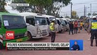 VIDEO: Polres Karawang Amankan 32 Travel Gelap