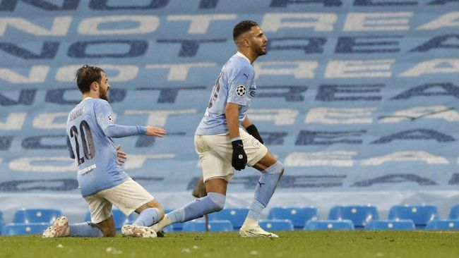 Manchester City lolos ke final Liga Champions setelah mengalahkan PSG 2-0 di leg kedua semifinal di Etihad, Rabu (5/5) dini hari WIB.