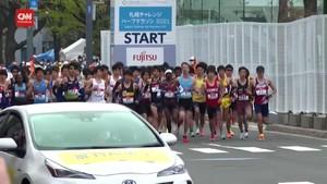 VIDEO: Gladi Bersih Maraton Olimpiade Tokyo