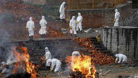 Kematian akibat Covid-19 di India Tembus 300 Ribu Kasus