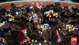 Resep Kue Lebaran Cokelat Corn Flakes, Tanpa Oven