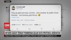 VIDEO: Gaduh Netizen Terkait Pemberian Gelar Duta Prokes