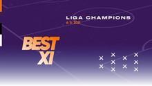 INFOGRAFIS: Best 11 Semifinal Liga Champions