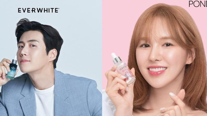Intip Produk Skincare yang Dipromosikan Wendy 'Red Velvet' dan Kim Seon Ho di Indonesia