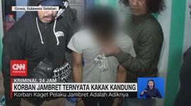 VIDEO: Korban Jambret Ternyata Kakak Kandung