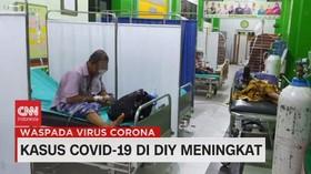 VIDEO: Kasus Covid-19 di DIY Meningkat