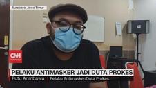 VIDEO: Pelaku Antimasker Jadi Duta Prokes