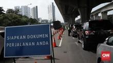 Polisi Buka Tutup Penyekatan di Tol Cikarang Imbas Kemacetan