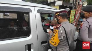 Viral Maki Petugas Penyekatan, Pemudik di Sukabumi Dimaafkan