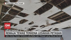 VIDEO: Remaja Tewas Terkena Ledakan Petasan