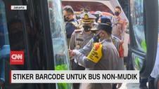 VIDEO: Stiker Barcode Untuk Bus Non-Mudik