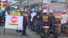 VIDEO: Pos Penyekatan Jatiuwung Antisipasi Pemudik Malam Hari