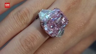 VIDEO: Berlian Pink Sakura Dilelang, Target hingga Rp544 M