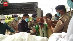VIDEO: India Sumbang 25 Persen Kematian Corona di Dunia