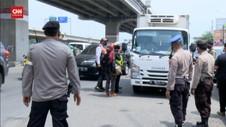 VIDEO: 15 Kendaraan Diminta Putar Balik di Kalimalang