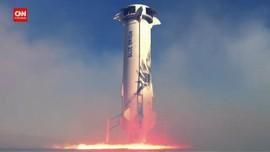 VIDEO: Jeff Bezos Lelang Tiket Wisata Antariksa 20 Juli