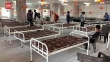 VIDEO: Kuil India Disulap Jadi Pusat Perawatan Covid-19