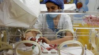 FOTO: Karunia Perempuan Mali Melahirkan 9 Bayi