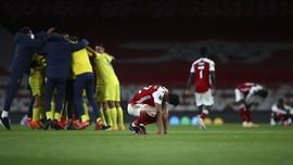 FOTO: Nestapa Arsenal di Hadapan Villarreal