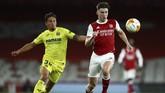 Arsenal gagal ke final Liga Europa setelah ditahan imbang Villarreal pada leg kedua semifinal di Stadion Emirates, Jumat (7/5) dini hari WIB.