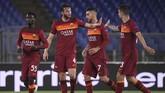 Manchester United lolos ke final Liga Europa 2021 setelah mengalahkan AS Roma dengan agregat kemenangan 8-5.
