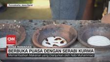 VIDEO: Berbuka Puasa Dengan Serabi Kurma