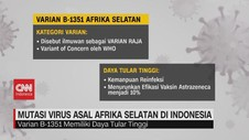 VIDEO: Mengenal Mutasi Virus Asal Afrika Selatan di Indonesia