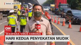 VIDEO: Hari Kedua Penyekatan Mudik