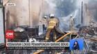 VIDEO: Kebakaran Lokasi Penampungan Barang Bekas