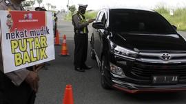 Hari Pertama Larangan Mudik, 23 Ribu Kendaraan Diputar Balik