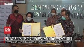 VIDEO: Mensos Resmi Stop Bantuan Sosial Tunai Covid-19
