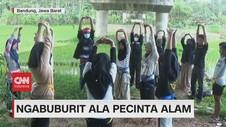 VIDEO: Ngabuburit Ala Pecinta Alam