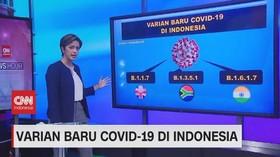 VIDEO: Mengenal Berbagai Varian Baru Covid-19 di Indonesia
