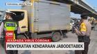 VIDEO: Penyekatan Kendaraan Jabodetabek